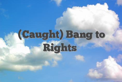 (Caught) Bang to Rights