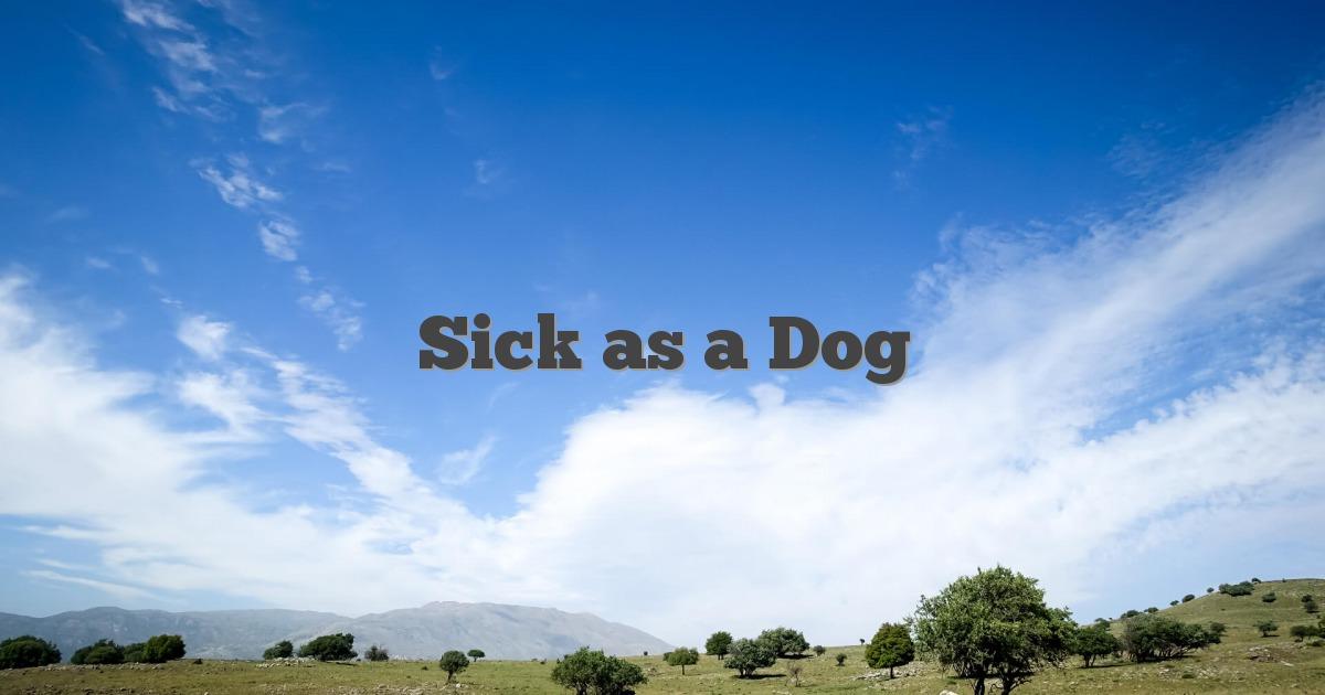 Sick as a Dog